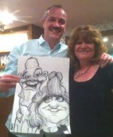 A Corporate Caricature Artist